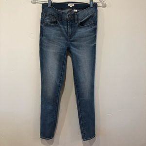 J. Crew Factory Skinny Ankle Jeans, Size 24